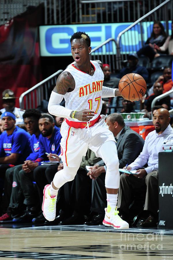 Detroit Pistons V Atlanta Hawks Photograph by Scott Cunningham