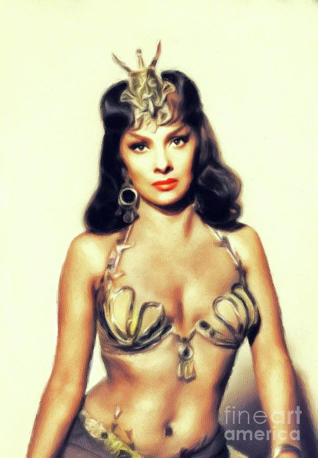 Gina Lollobrigida, Vintage Movie Star by John Springfield