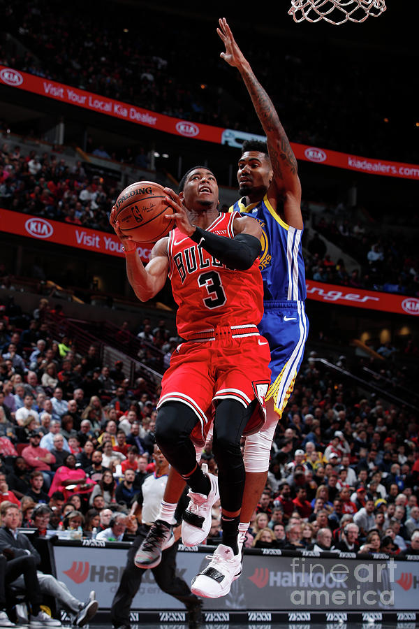 Golden State Warriors V Chicago Bulls Photograph by Jeff Haynes