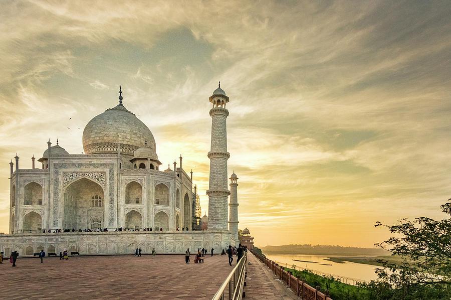Agra Photograph - India, Uttar Pradesh by Alison Jones