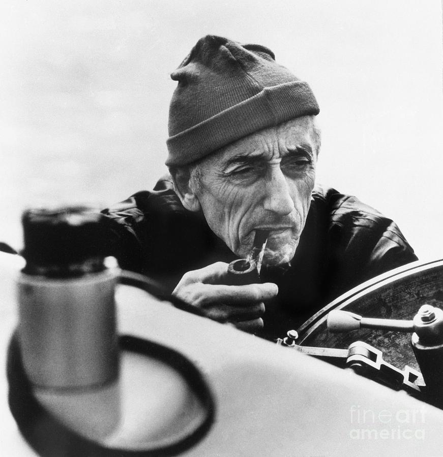 Jacques-yves Cousteau Photograph by Bettmann