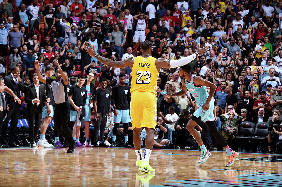 Lebron James Photograph by Brian Babineau