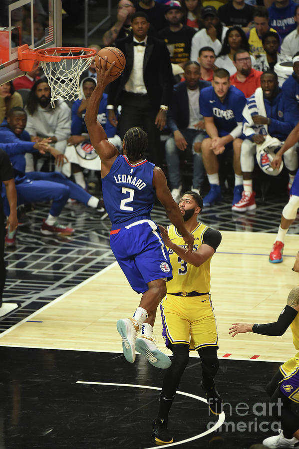 Los Angeles Lakers V La Clippers Photograph by Adam Pantozzi