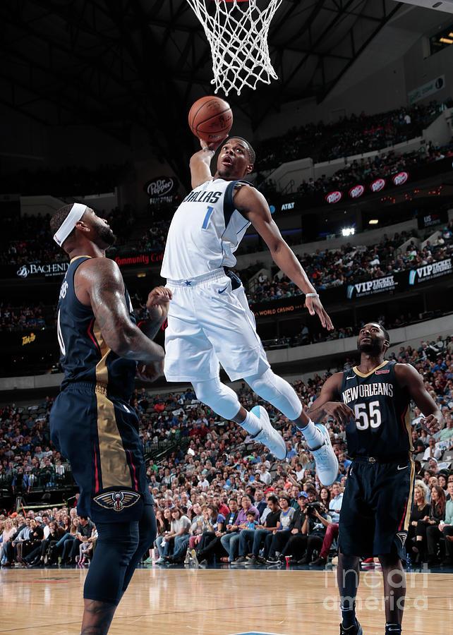 New Orleans Pelicans V Dallas Mavericks Photograph by Glenn James