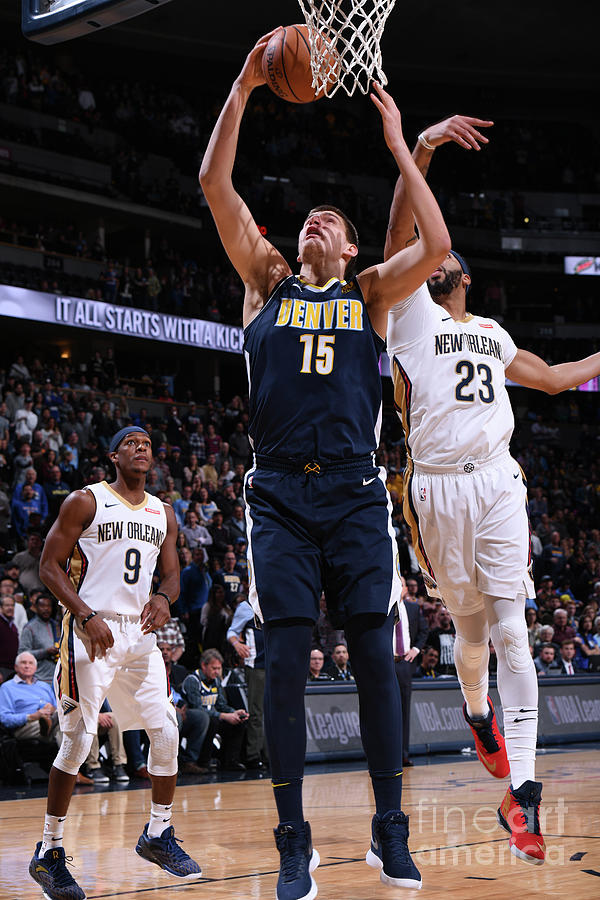 New Orleans Pelicans V Denver Nuggets Photograph by Garrett Ellwood