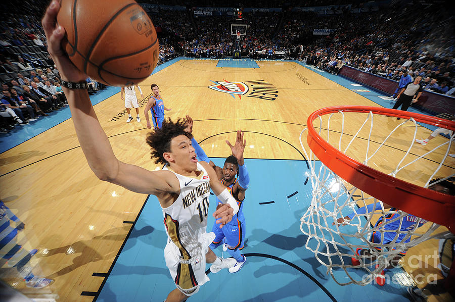 New Orleans Pelicans V Oklahoma City Photograph by Bill Baptist