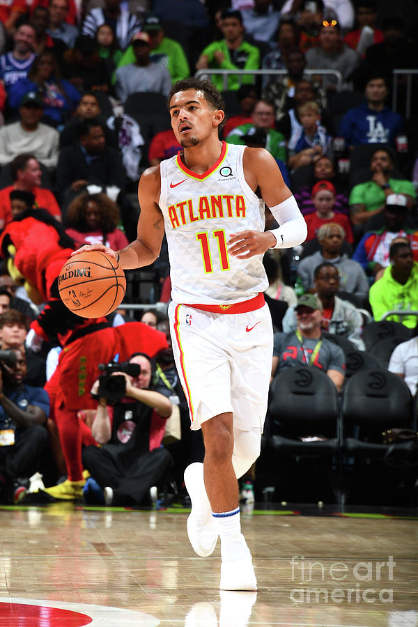 Philadelphia 76ers V Atlanta Hawks Photograph by Scott Cunningham