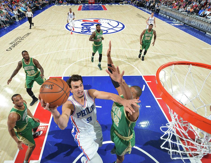 Philadelphia 76ers V Boston Celtics Photograph by Jesse D. Garrabrant
