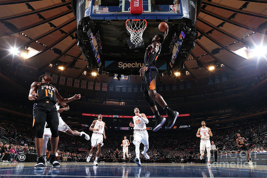 Phoenix Suns V New York Knicks Photograph by Nathaniel S. Butler