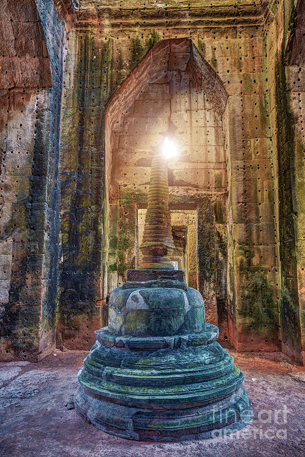 Preah Khan Temple Angkor Wat Unesco World Heritage Site Photograph