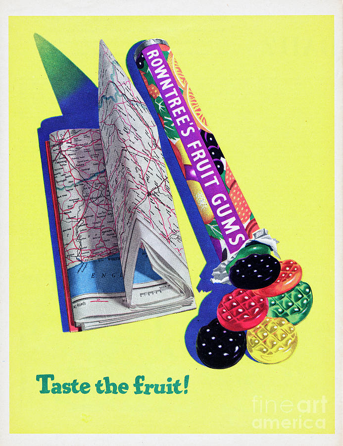 Rowntrees Fruit Gums Photograph by Picture Post