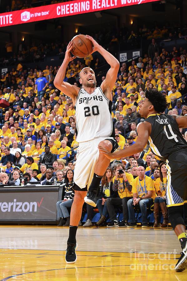 San Antonio Spurs V Golden State Photograph by Andrew D. Bernstein