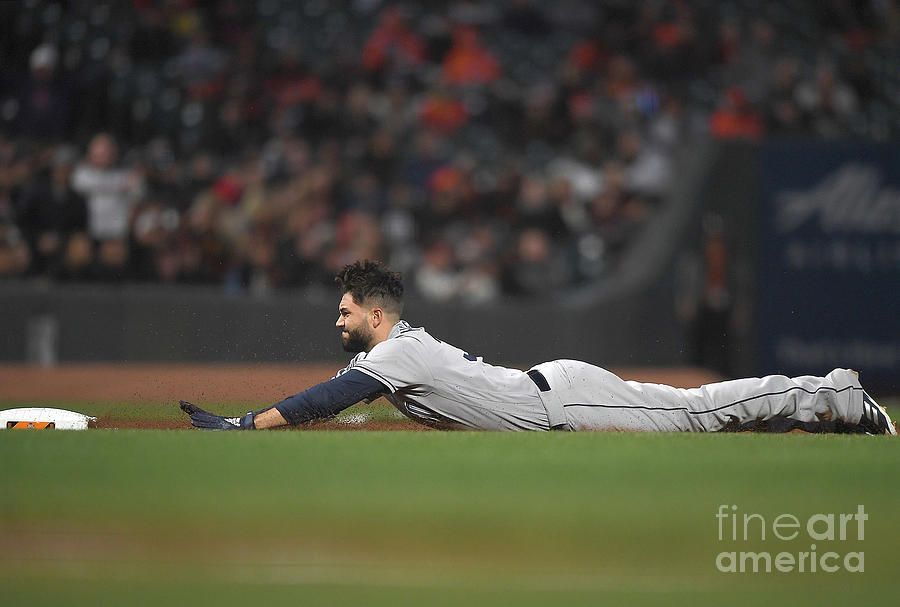 San Diego Padres V San Francisco Giants 9 Photograph by Thearon W. Henderson