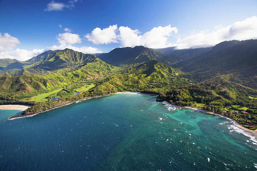 Scenic Aerial Views Of Kauai From Above Photograph by Matthew Micah Wright