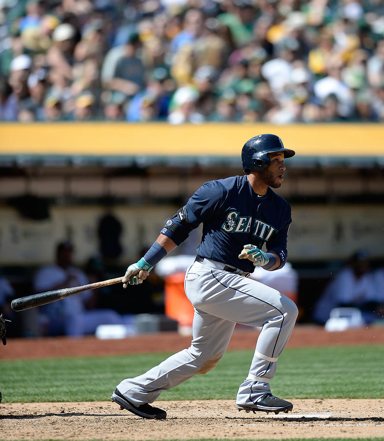 Seattle Mariners V Oakland Athletics Photograph by Thearon W. Henderson