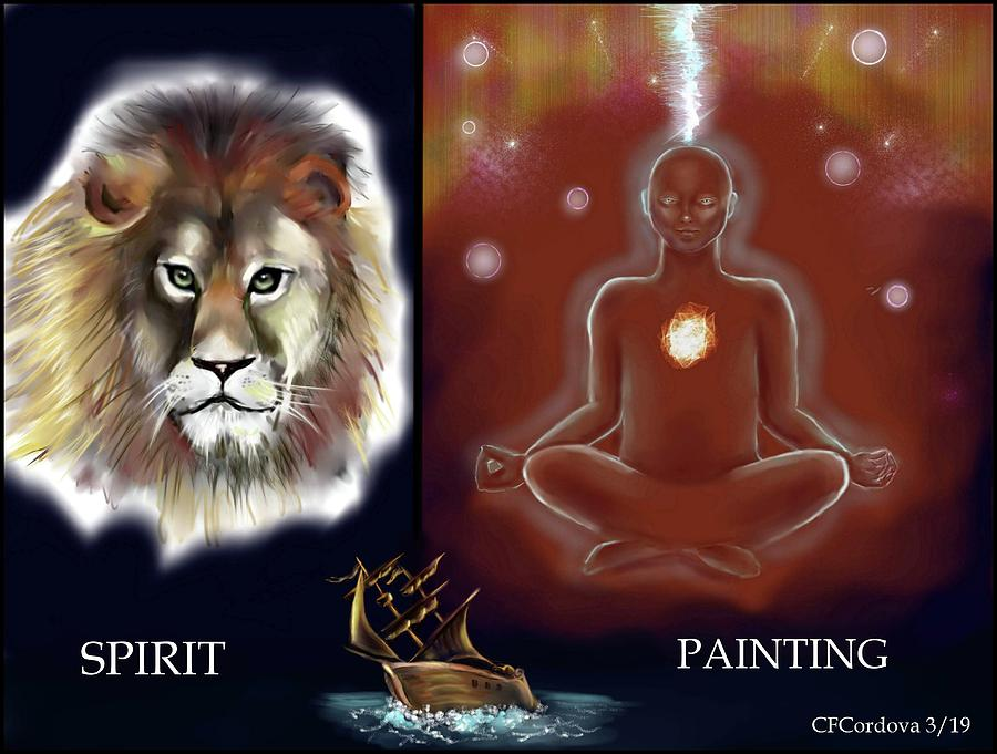 Spirit Painting Collection by Carmen Cordova