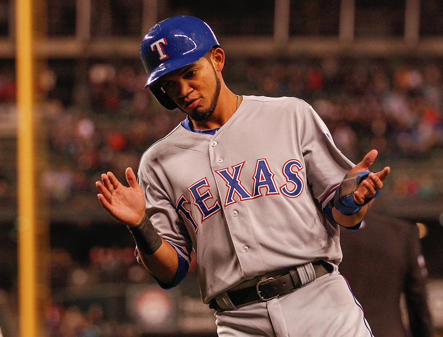 Texas Rangers V Seattle Mariners 9 Photograph by Otto Greule Jr