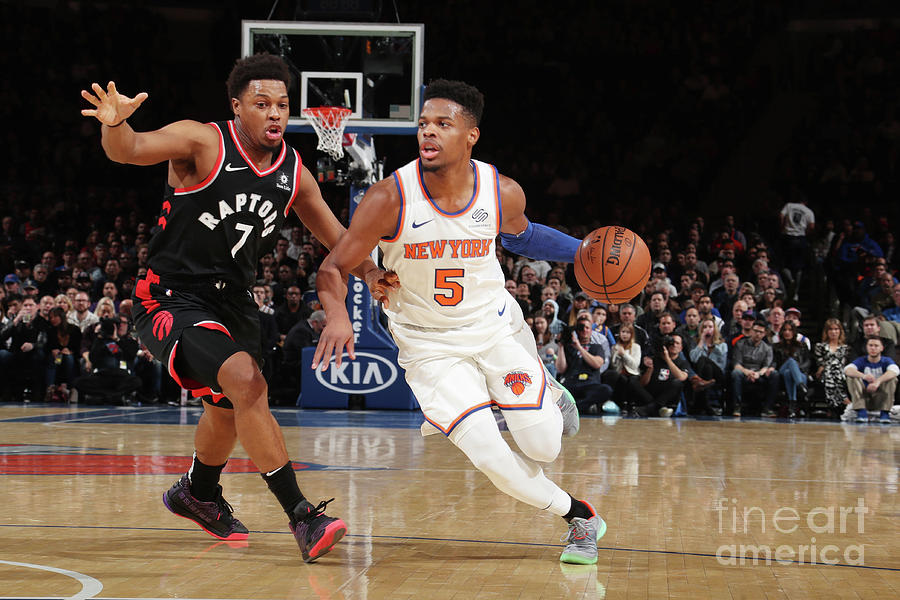 Toronto Raptors V New York Knicks Photograph by Nathaniel S. Butler