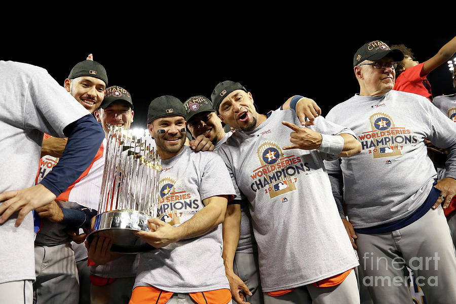 World Series - Houston Astros V Los Photograph by Ezra Shaw