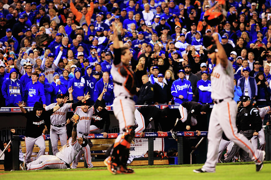 World Series - San Francisco Giants V 9 Photograph by Jamie Squire