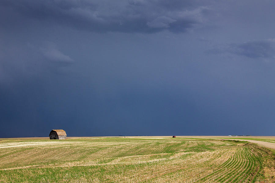 Sky Photograph - Prairie Storm Clouds by Mark Duffy