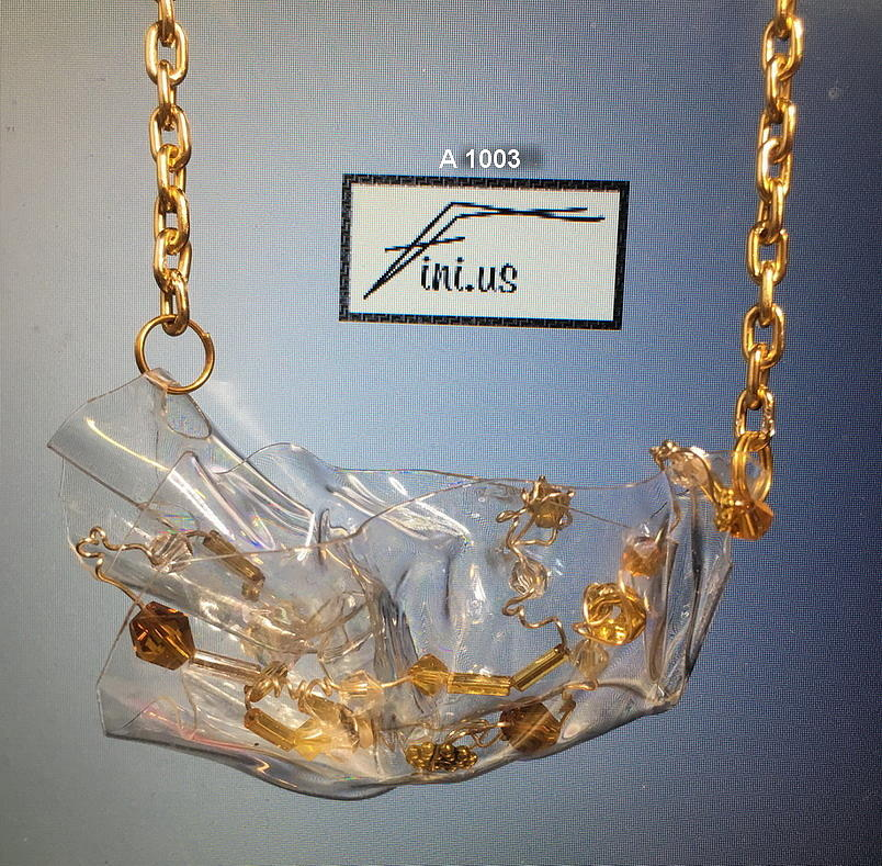 A 1003 Sculptured Pendant  by Mary Russell