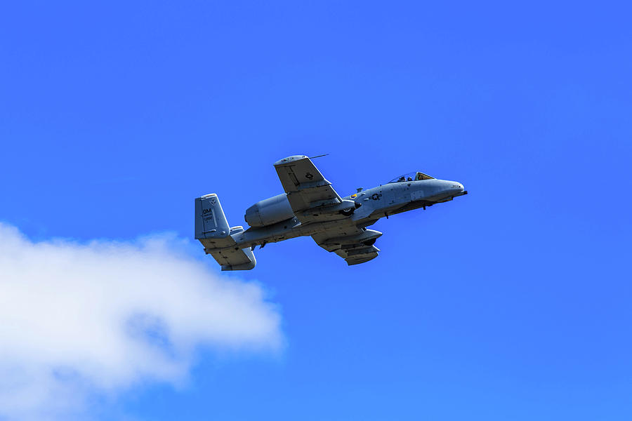 A-10C Thunderbolt II in Flight by Doug Camara