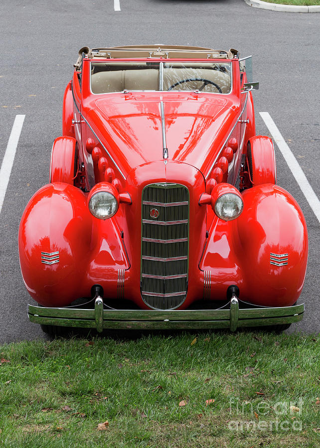 A 1930s LaSalle convertible at the 2014 Rockville Antique and Cla by William Kuta