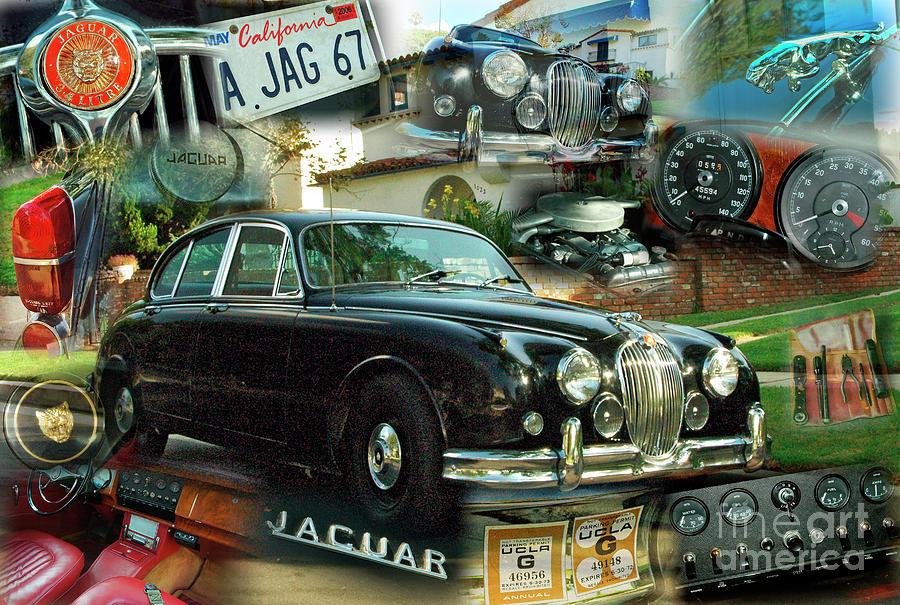 A 1967 Jaguar Sedan by Charles Abrams