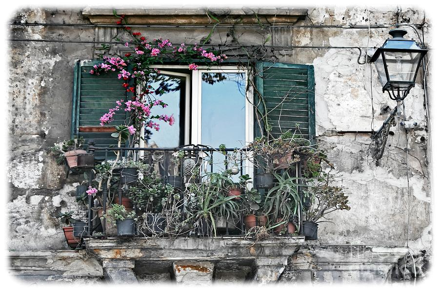 A Balcony in Palermo by David Birchall