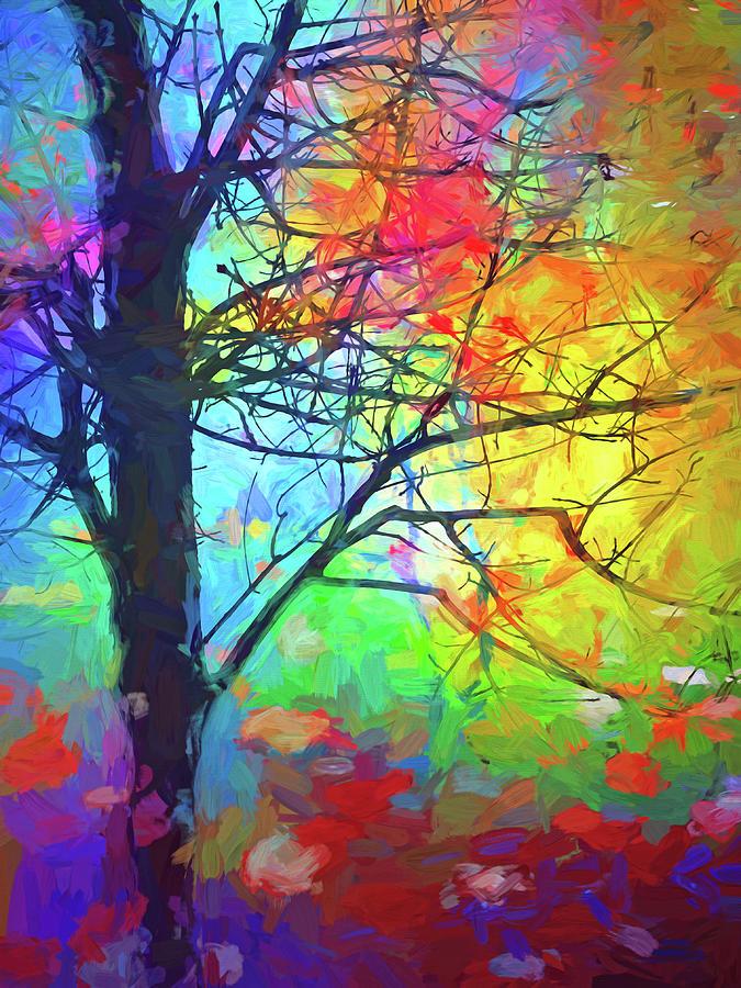 Tree Digital Art - A Beautiful Blur by Tara Turner