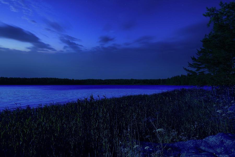 A Beautiful Night In The Archipelago by Johanna Hurmerinta