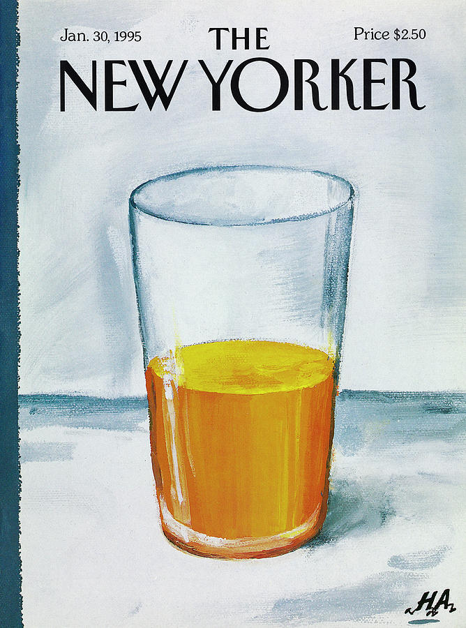 A Bit Of Oj To Start The Day Drawing by Bob Zoell