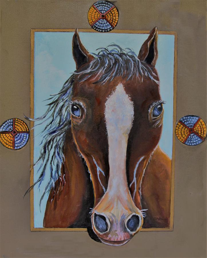 A Blue Eyed Horse by Philip Bracco