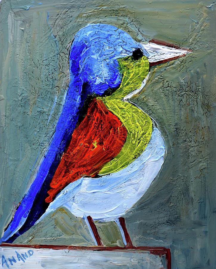 A BOLD BIRD by Anand Swaroop Manchiraju