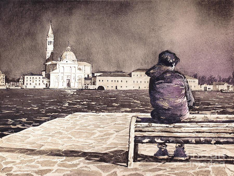 A Boy in Venice by Ryan Fox