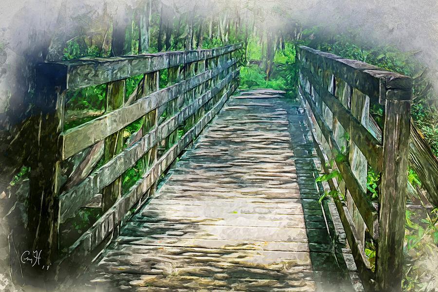 A Bridge to Cross by Christina M Hale
