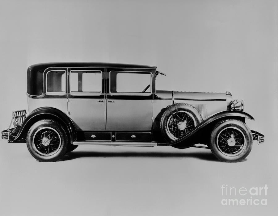 A Cadillac Sedan Photograph by Bettmann