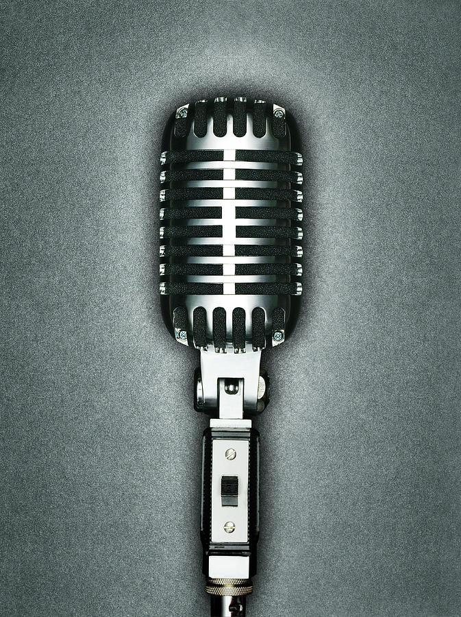 A Classic Microphone Photograph by Jonathan Kitchen