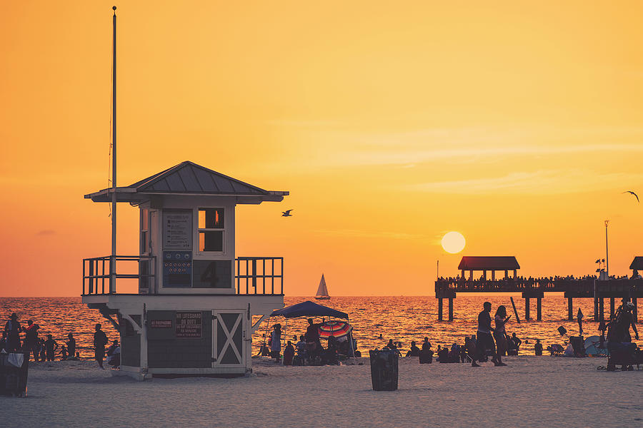 A Clearwater Evening by Ray Devlin