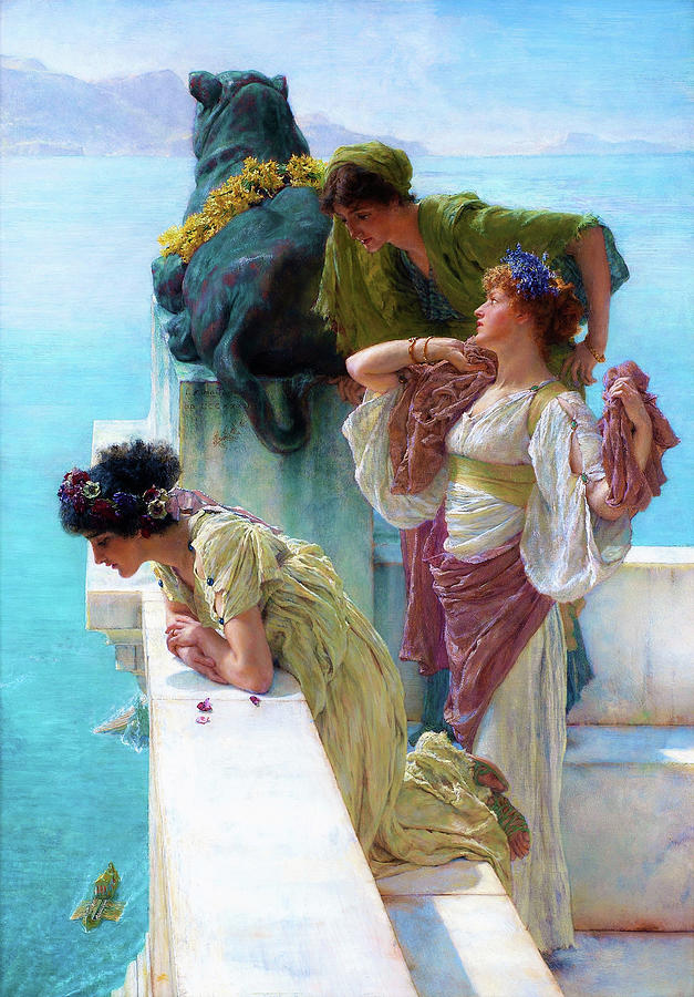 A coign of vantage - Digital Remastered Edition by Lawrence Alma-Tadema