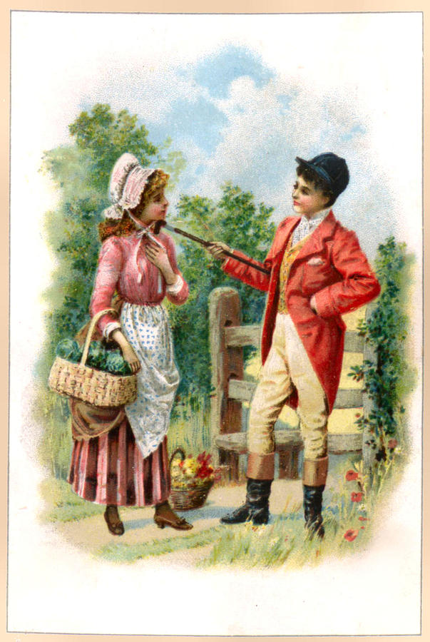 A Country Maid by Vintage Advertising Designs