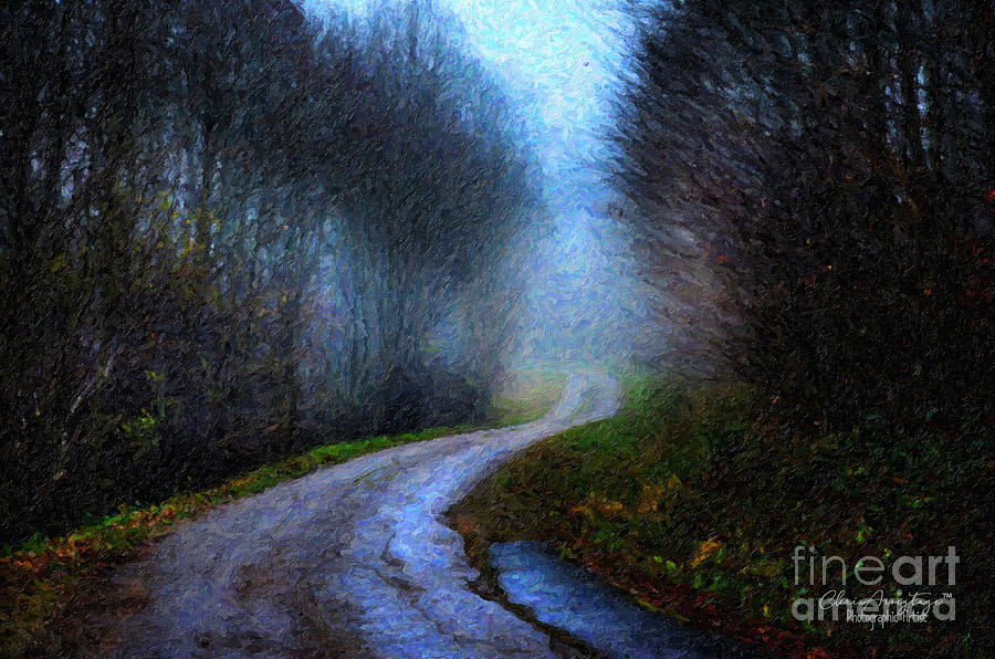 A Country Road in Winter by Chris Armytage