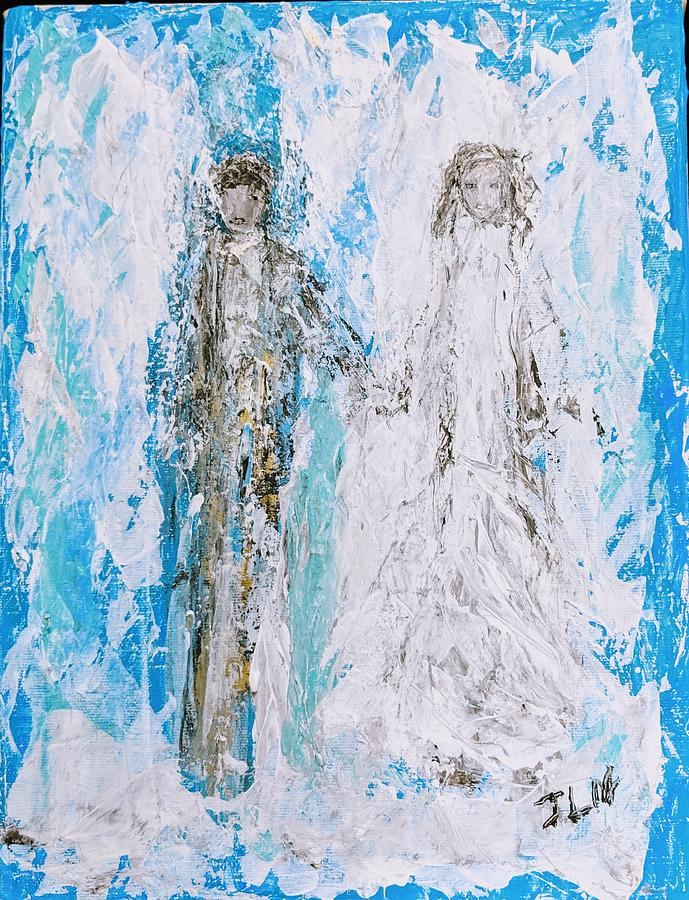A couple of angels  by Jennifer Nease