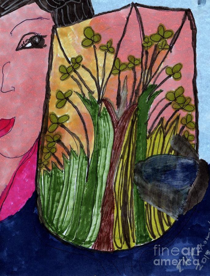 A Coveted Vase Mixed Media by Elinor Helen Rakowski