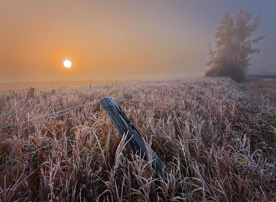 A Crisp October Morning by Dan Jurak