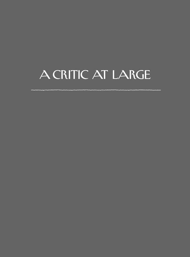 A Critic At Large Digital Art by Conde Nast