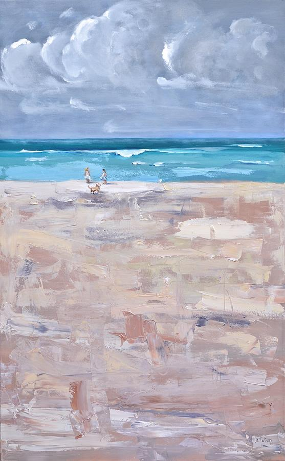 A Day at the Beach by Donna Tuten