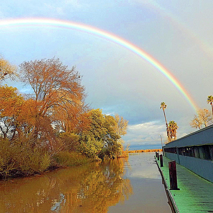 A Delta Rainbow by Joseph Coulombe