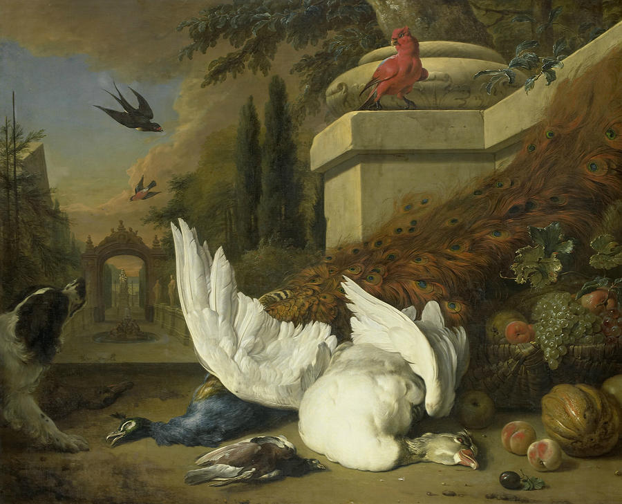 Image result for dead bird in dutch paintings